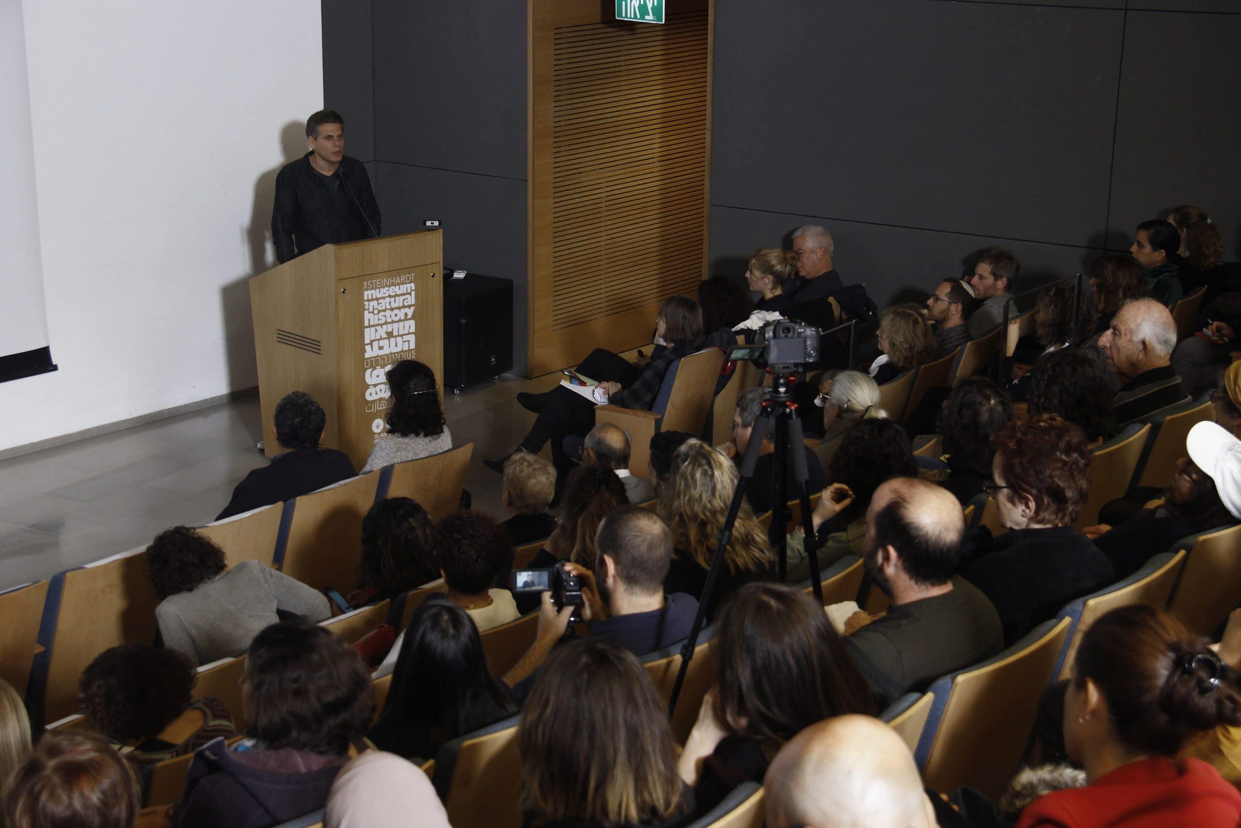 """ד""""ר אלון שפון מרצה במסגרת אירוע השקת EAT-Lancet בישראל"""