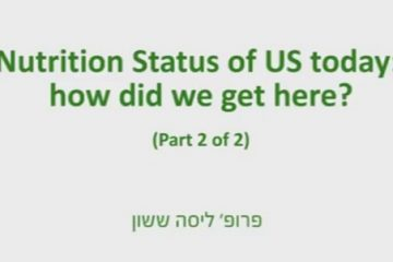 Prof. Lisa Sasson – Nutrition Status of US Today: How Did We Get There – 2/2